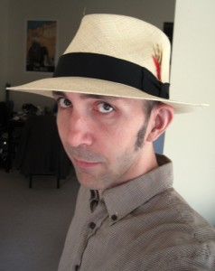 Me in Panama hat.