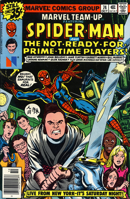 Spider-Man and the Not-Ready-For-Prime-Time Players!