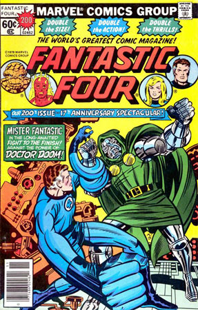 Cover of FF 200 by Kirby and Sinnott