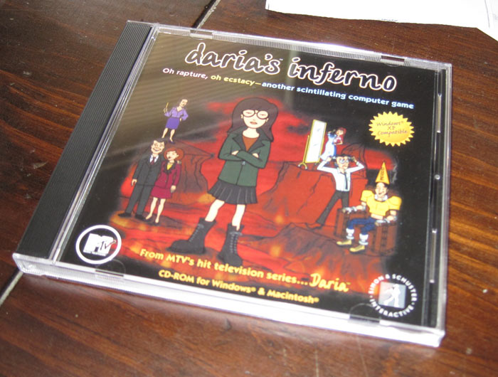 Daria's Inferno on CD-ROM