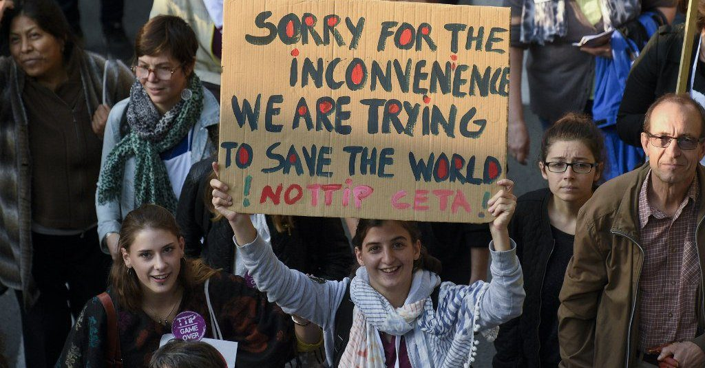 Sorry for the inconvenience, we are trying to save the world