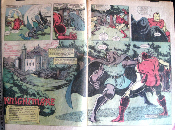 Pages 2-3 of Iron Man #150