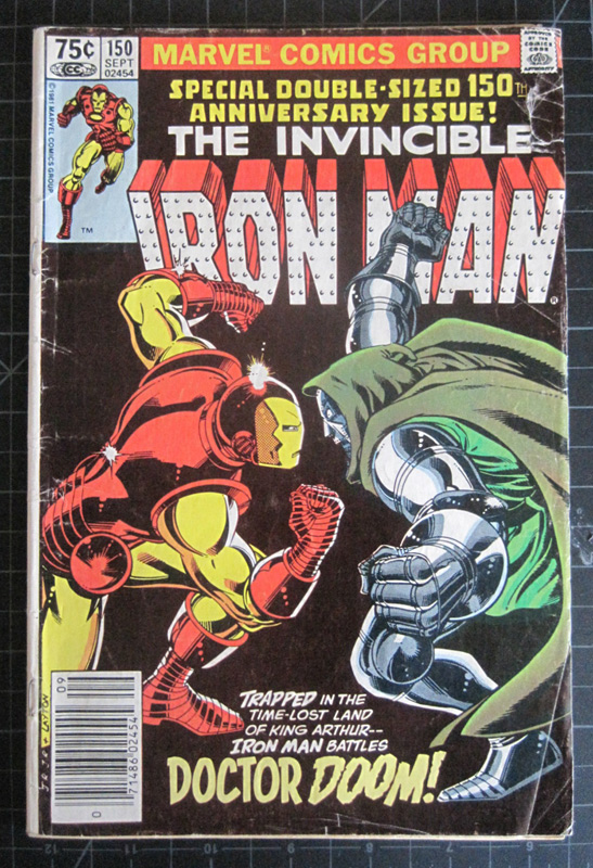 Cover of Iron Man (vol. I) #150