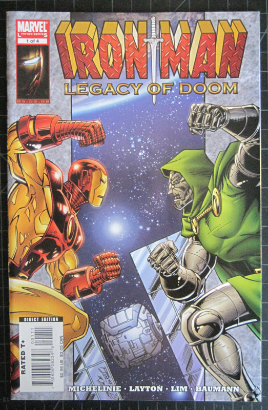 Cover of Iron Man: Legacy of Doom #1